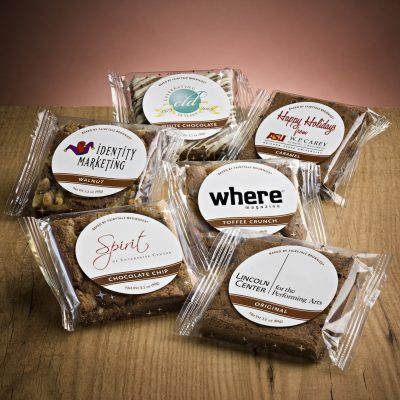Custom Label Brownies