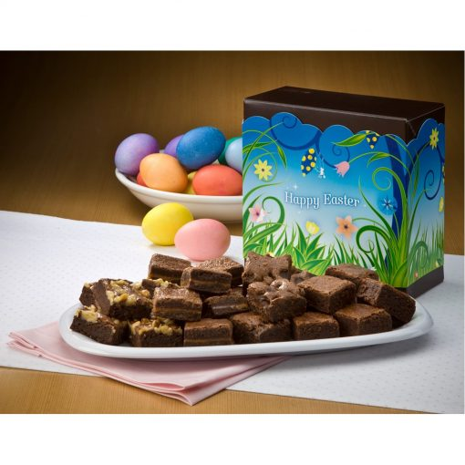 Easter Morsel 24 Brownie Box w/ Happy Easter Band