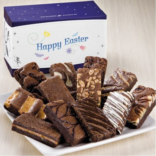 Easter Sprite Dozen Brownie in Treasure Gift Box w/ Happy Easter Band