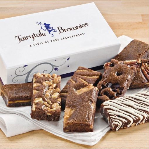 Fairytale Brownie 8-Sprites Favor in White/ Purple Box (Blank)