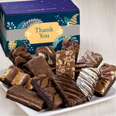 Fairytale Brownies Thank You Sprites Dozen in White/ Purple Box
