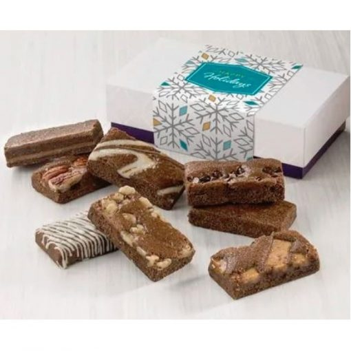 Fairytale Brownie Holiday 8-Sprites Favor In White/ Purple Box
